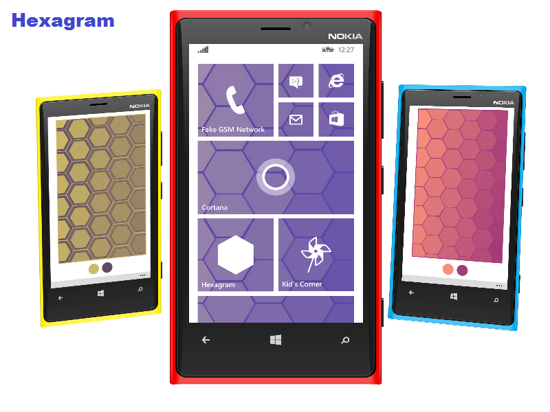 Hexagram Makes Your Lumia More Beautiful 12
