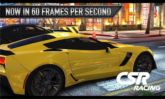 CSR Racing Windows Phone 1