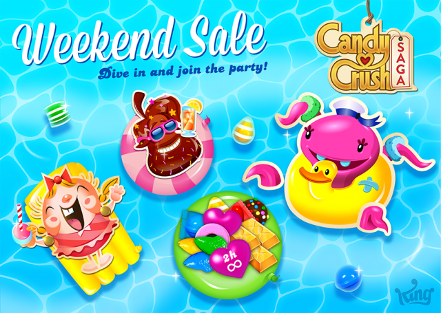 Candy Crush Saga Sale
