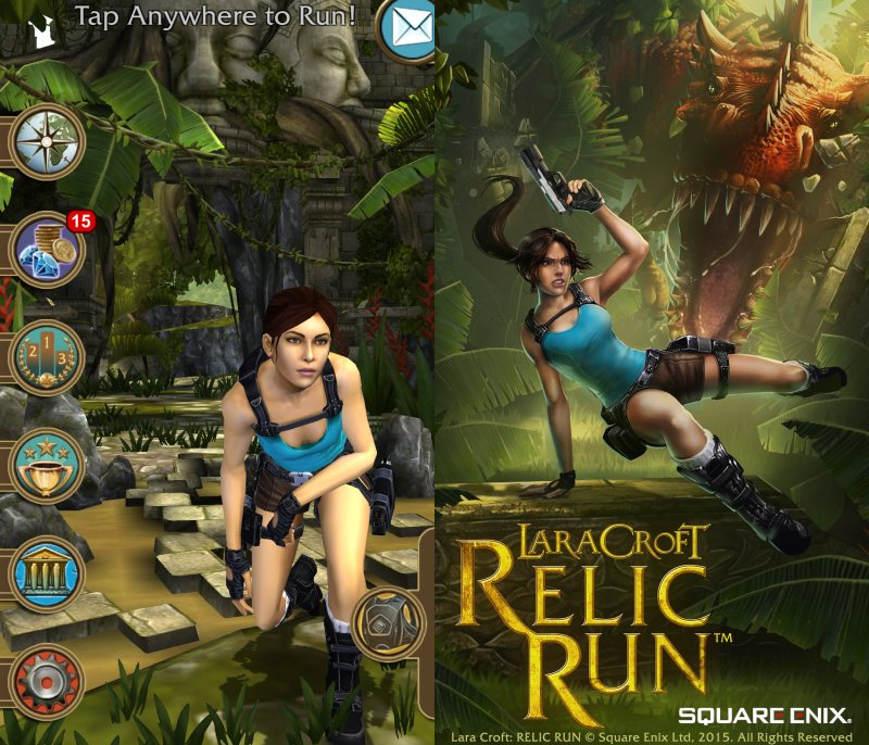 Game Review – Lara Croft: Relic Run for Windows Phone 1