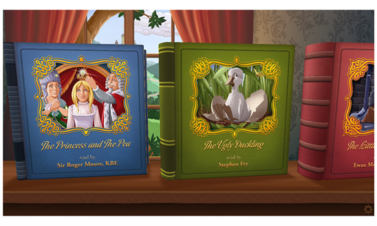 Enjoy Fairy Tales Through The Familiar Voices Of Favorite Celebrities Through The GivingTales App 8
