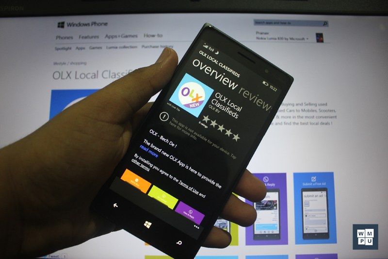 Official OLX app on Windows Phone gets updated with bug fixes and
