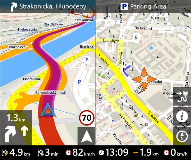 MapFactor GPS Windows Phone app