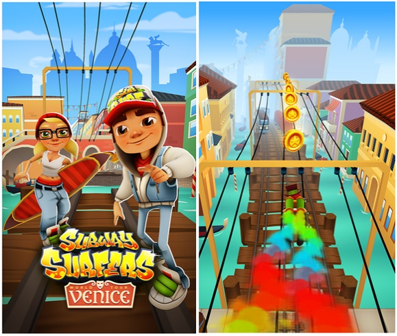 Subway Surfer Windows Phone Venice