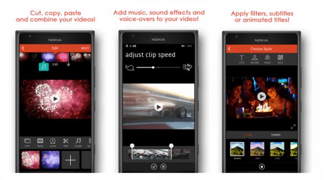 Videoshop Windows Phone