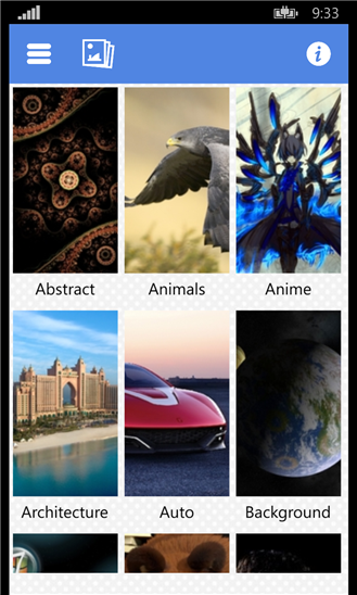 Smart Wallpapers, probably the smartest wallpaper search engine 5