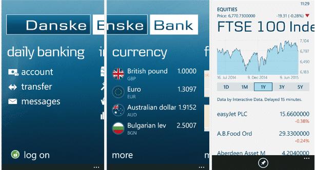 Danske Bank UK release a Windows Phone app - MSPoweruser