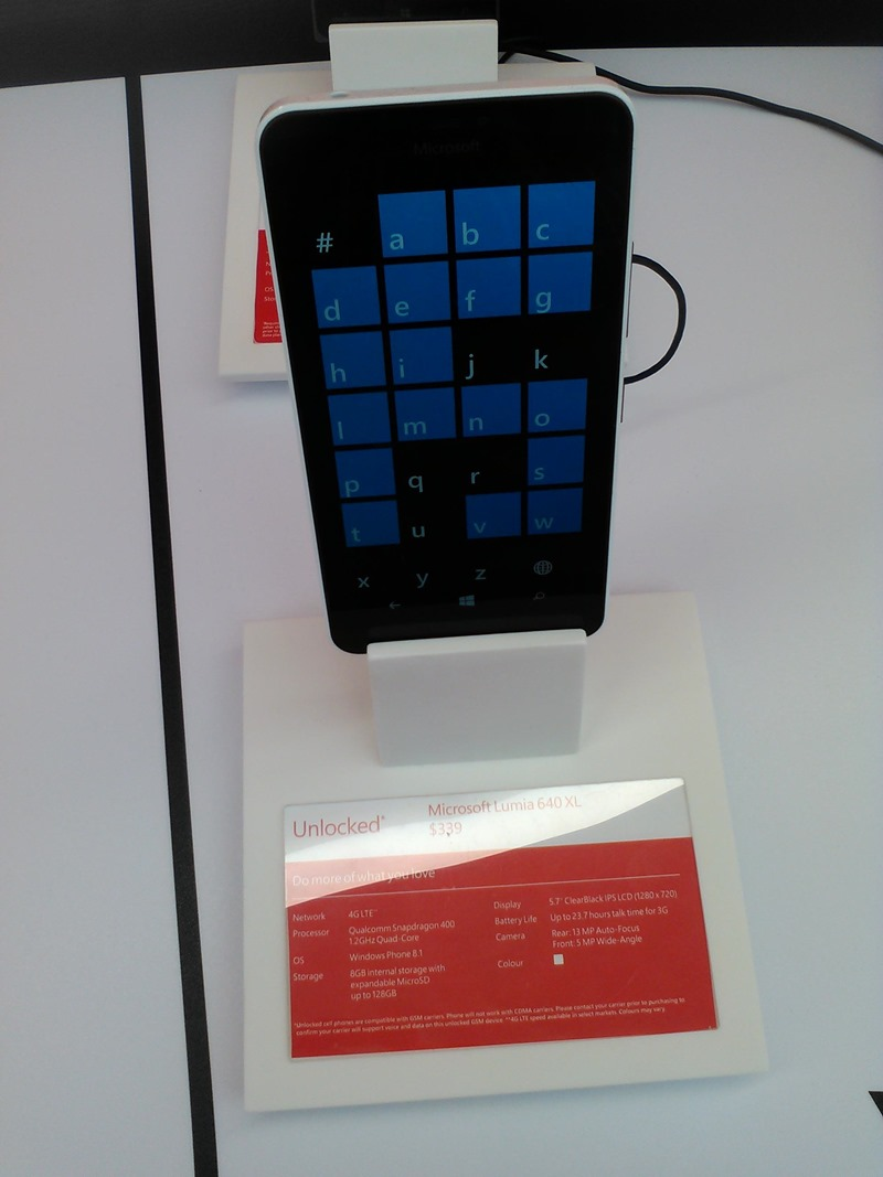 lumia 640 xl canada