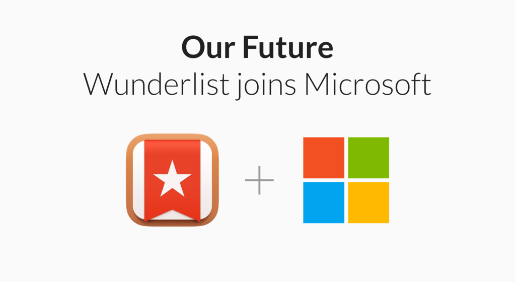 Wunderlist founder wants to buy back the product from Microsoft 4