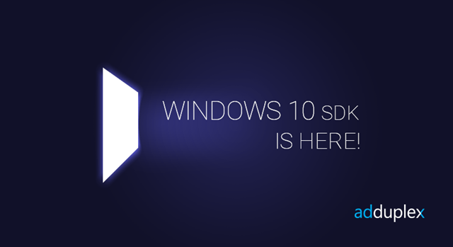 AdDuplex Windows 10 SDK