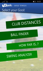 Gools - an app full of tools for golfers 5