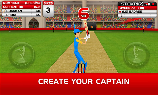 Stick Cricket Windows Phone Game
