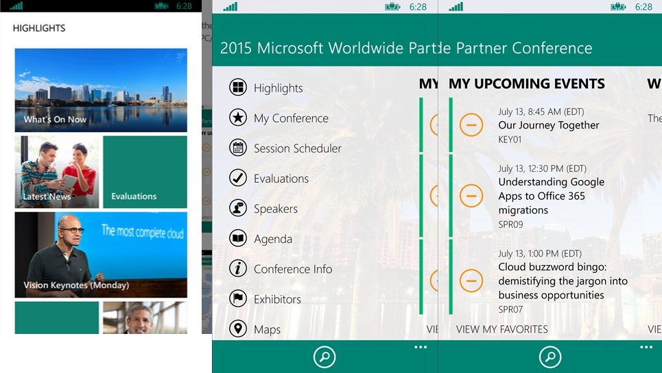 Microsoft WPC 2015 Official App Now Available For Download From Windows Phone Store 5