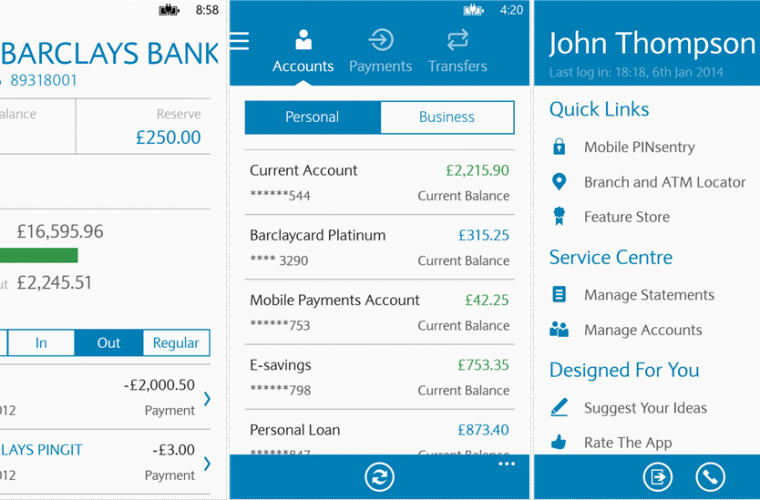 Barclays Bank in UK nixes their Windows Phone app 4