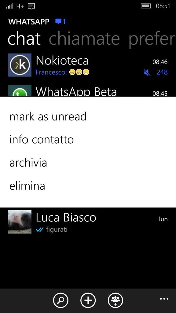 mark as unread