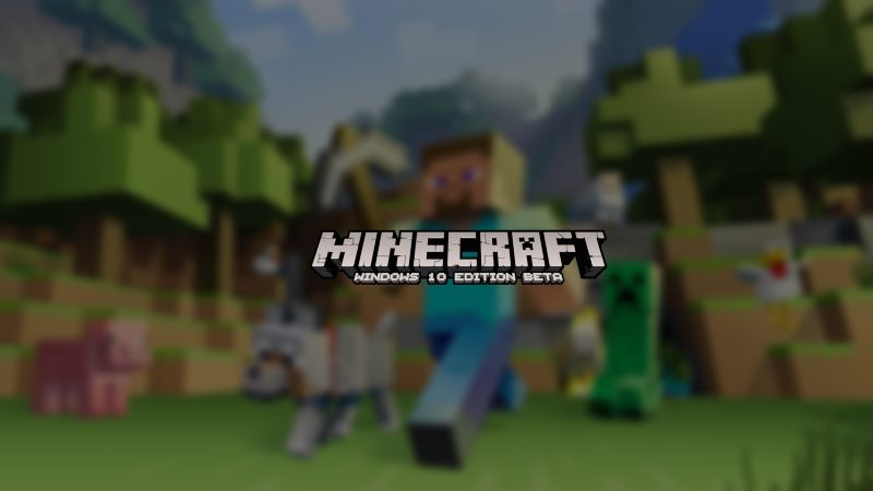 Minecraft celebrates the First Anniversary of Minecraft: Windows 10 Edition Beta 11