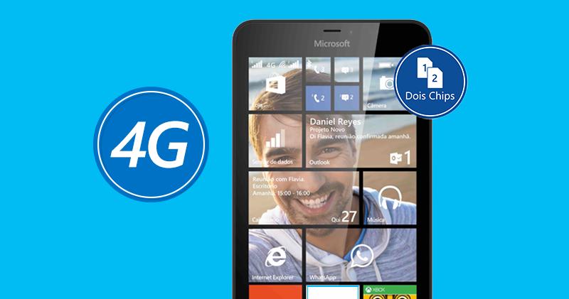 Lumia 640 XL LTE dual-sim Brazil