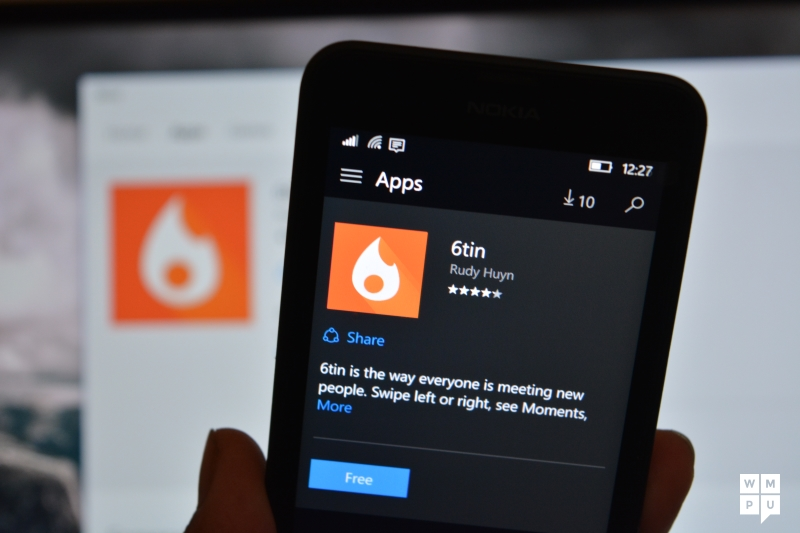 Tinder dating app for windows phone