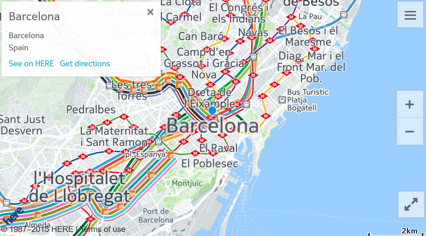 HERE Maps Update