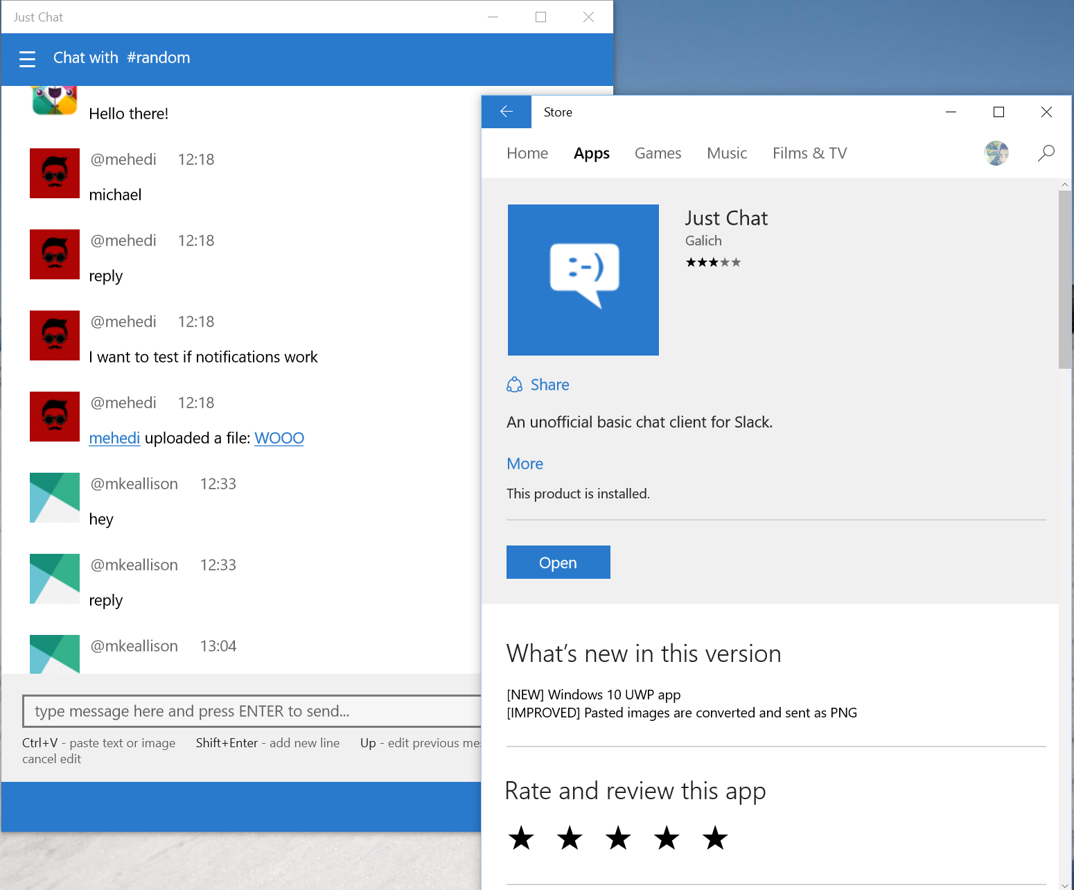 Gay Chat for Windows 10 free download on 10 App