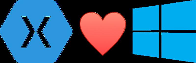 Xamarin-Heart-Windows