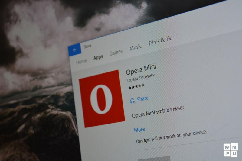 Opera has submitted its browser to the Windows 10 Store, but