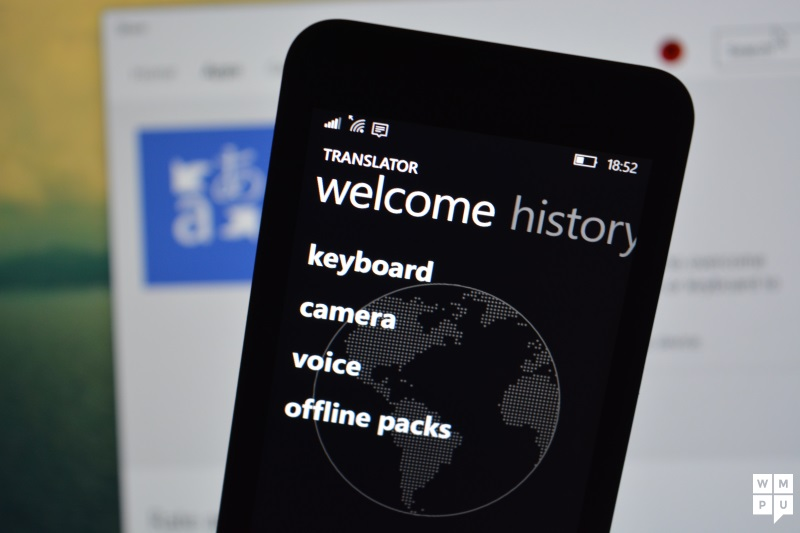 Microsoft Translator for Windows Phone updated with improved