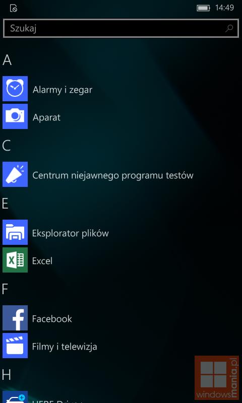 Windows 10 Mobile Build 10534 screenshots get leaked 4
