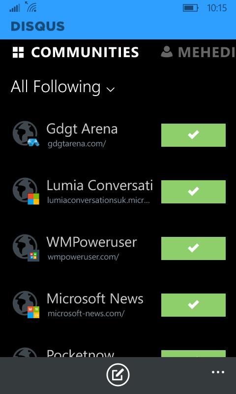 Disqus introduces its new Windows Phone app, Windows 10 app coming soon 3