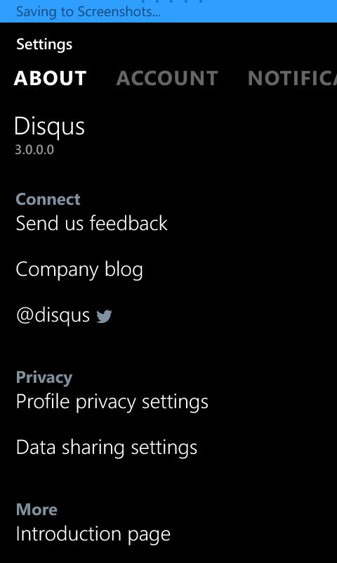 Disqus introduces its new Windows Phone app, Windows 10 app coming soon 8