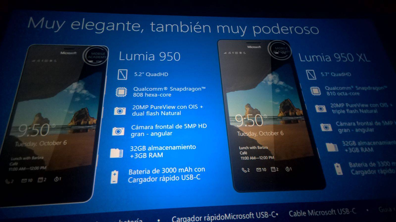New pictures of the Lumia 950 XL and Lumia 950 leaked, confirms rumored specs 3