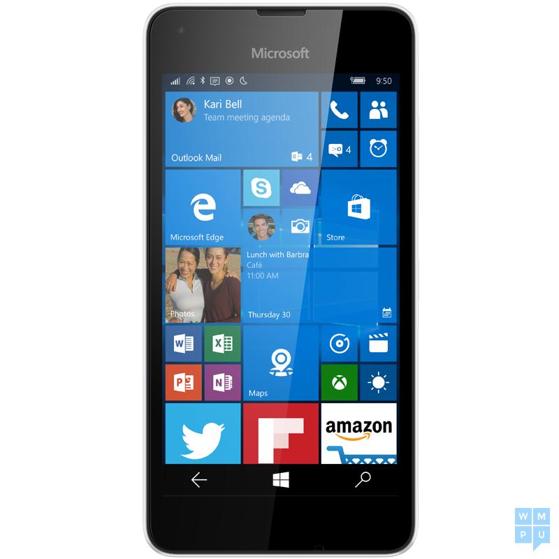 Lumia 550 White