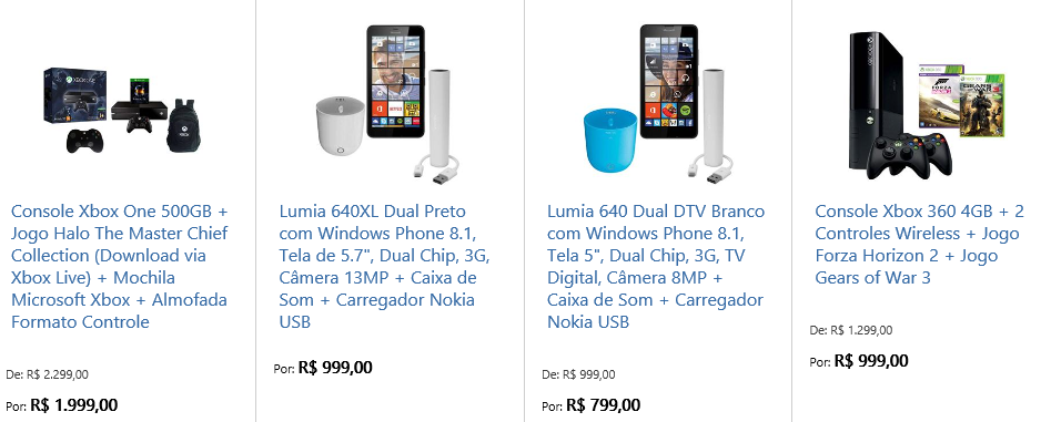 Microsoft partners with major third-party online retailers to sell its products in Brazil 2