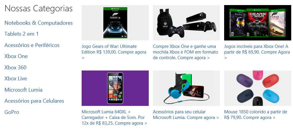 Microsoft partners with major third-party online retailers to sell its products in Brazil 1