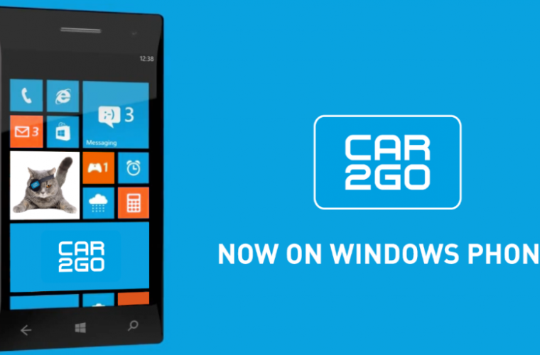 Car2Go Windows Phone