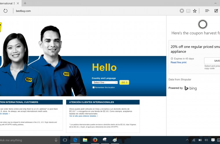 Cortana BestBuy 1