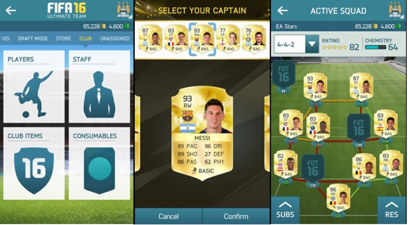 FIFA16 Windows Phone app