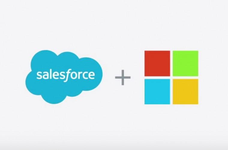 Salesforce Microsoft