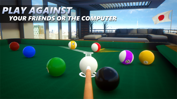 Developer Submission: Sky Cue Club 3D Pool simulator now available in Windows Store 10