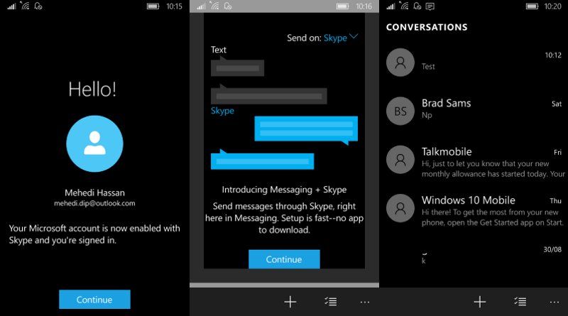 Download Messaging Skype Beta For Your Windows 10 Mobile Device
