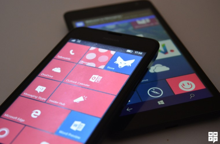 """A new Windows 10 Mobile Technical Preview is """"unlikely"""" before the 6th October 9"""