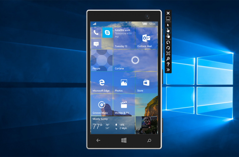 Video: Hands-on with Windows 10 Mobile Build 10563 Emulator