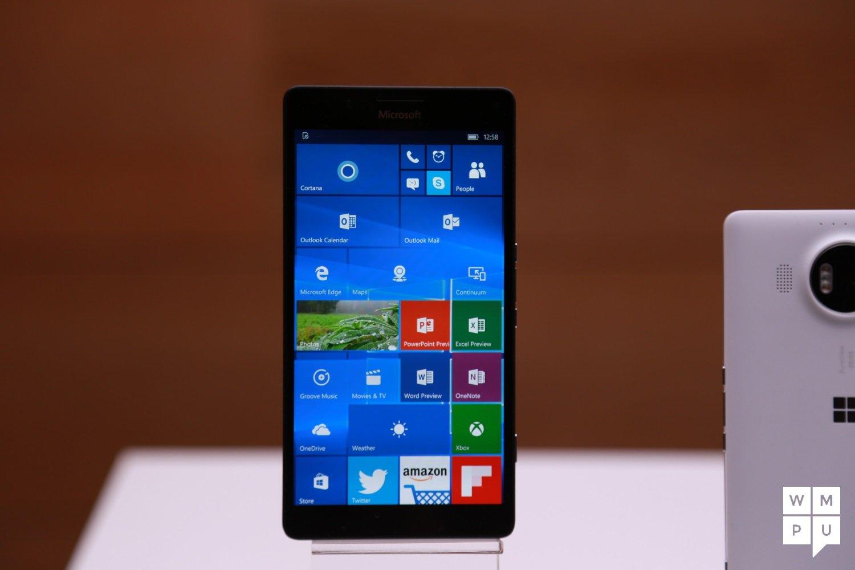 Hands On With The Lumia 950 Xl Lumia 950 And Lumia 550