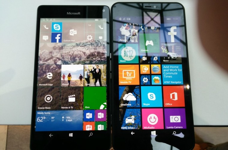 Size Comparison: Lumia 950 XL vs the Lumia 640,  640 XL, 920 and 1520 (photos) 8