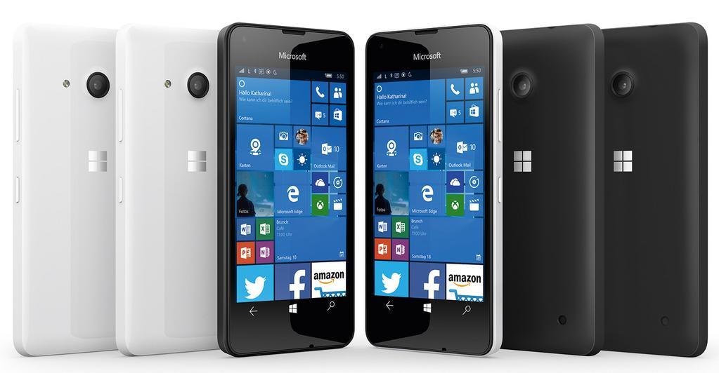 Microsoft Lumia 550 Render