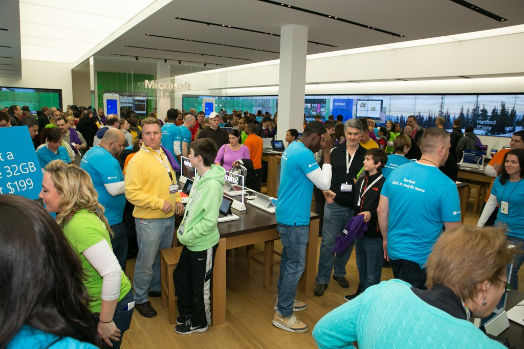 Microsoft Stores Surface