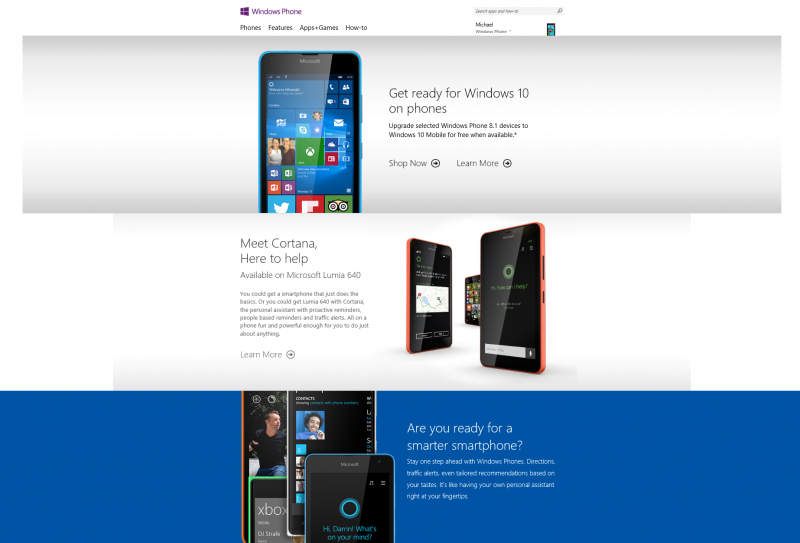 Windows Phone dot com