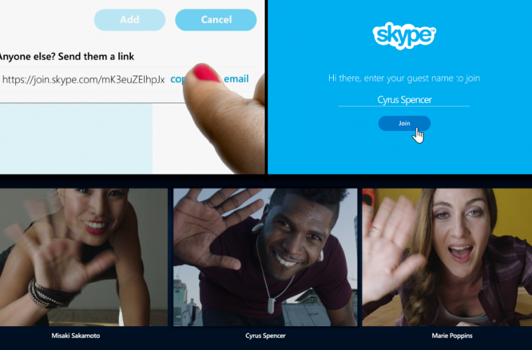 Skype Web Group