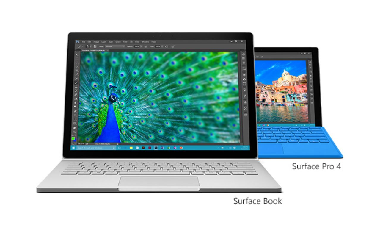 Surface Book and Pro 4