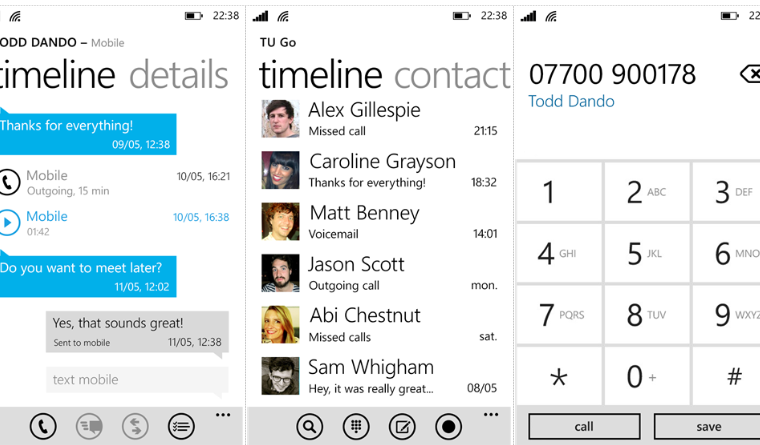Windows Phone users of Vivo and Movistar in South America can now use TU Go to make Wi-fi Calls 8